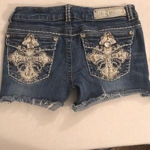 💜SALE💜 Miss Chic Jean Shorts Size 7
